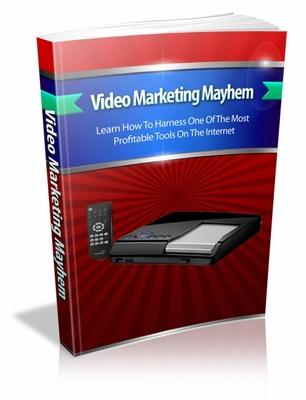 Product picture Video Marketing Mayhem