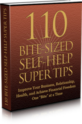 Product picture 110 Bit Sized Self-Help Super Tips